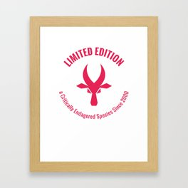 Tamaraw Ltd Ed Framed Art Print