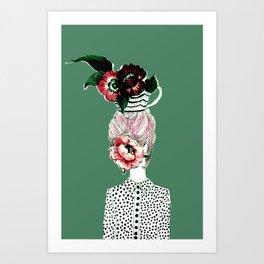 Tea Girl Art Print