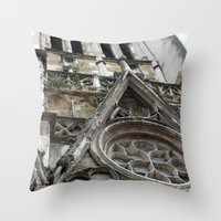 france Throw Pillows featuring France by Medea