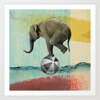 balance Art Prints featuring Balance by Vin Zzep
