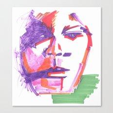Aufgewühlt Canvas Print