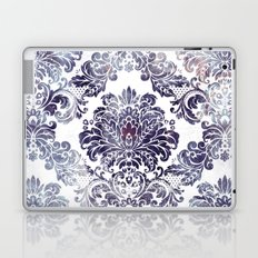 Blueberry Damask Laptop & iPad Skin