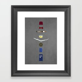 Eleven (Doctor Who) Framed Art Print