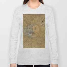 Sun and Moon Together Long Sleeve T-shirt
