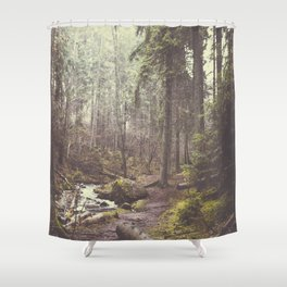 The paths we wander Shower Curtain