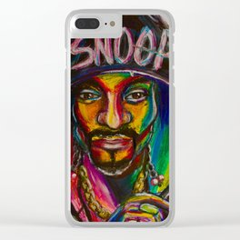 Snoop Dog Clear iPhone Case