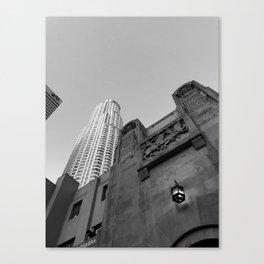 Grey skies Canvas Print