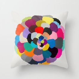 echeveria 1 Throw Pillow