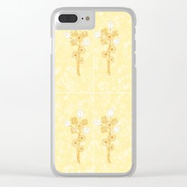 garden pickings 4x4 Clear iPhone Case