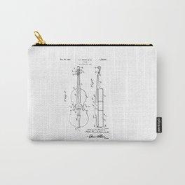 patent art Brown et al Violin 1930 Carry-All Pouch