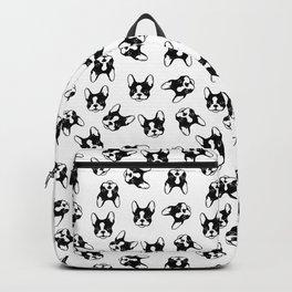 French bulldog pattern Backpack