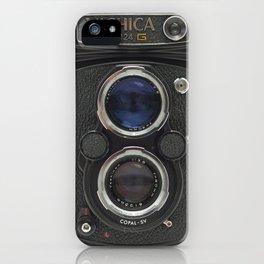 Vintage Camera (Yashica  124 G) iPhone Case