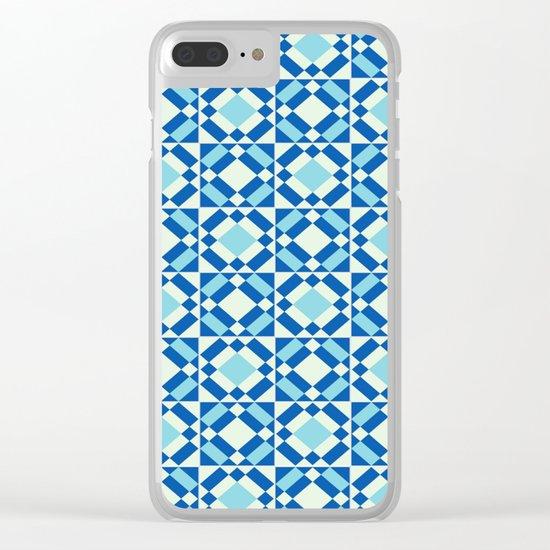 Azulejos 9 Clear iPhone Case