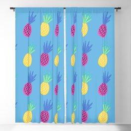 Baesic Tropic Pineapples Blackout Curtain