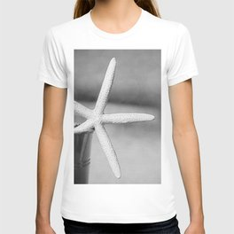 Black and White Starfish T-shirt