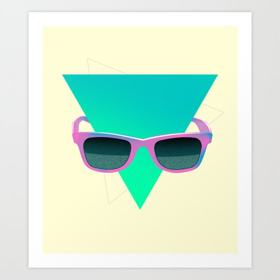 Great 80's I. Art Print