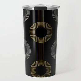 GUITAR IN ABSTRACT GS  (art deco) Travel Mug