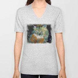 Himalayan Cat Unisex V-Neck