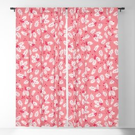 Holly pattern Blackout Curtain