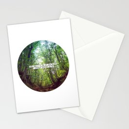 """Nice quote: """"One day I'll be at the place..."""" Stationery Cards"""