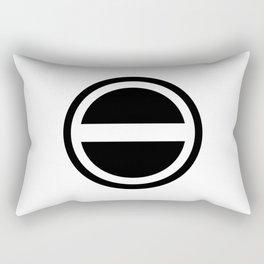 Curtis Holt Logo (Black) Rectangular Pillow