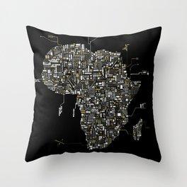 Africa Devotional Throw Pillow