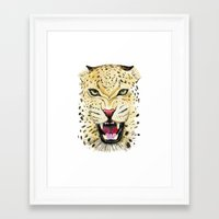 leo Framed Art Prints featuring Leo by Iskoskikh Sveta
