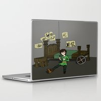 hiccup Laptop & iPad Skins featuring Hiccup Adjustments by Gio Garcia