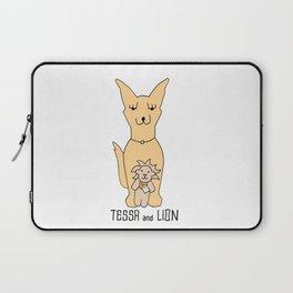 Tessa and Lion Laptop Sleeve