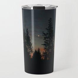 October Sunset Travel Mug