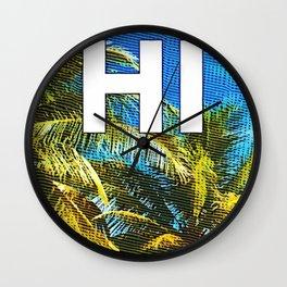 Hawaiian Pride Wall Clock