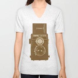 Lubitel Camera Unisex V-Neck