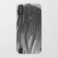 kraken iPhone & iPod Cases featuring KRAKEN by Kirkrew