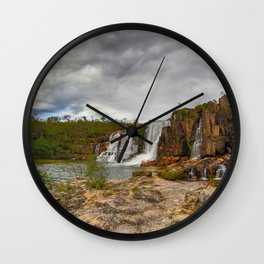 Here comes the rain Wall Clock