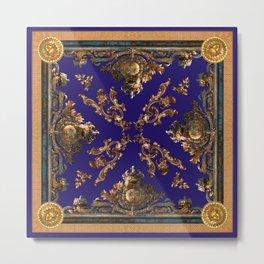 Versailles in cobalt blue Metal Print