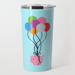 Pigs Can Fly Travel Mug