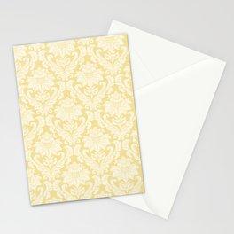 Cream Damasco Stationery Cards