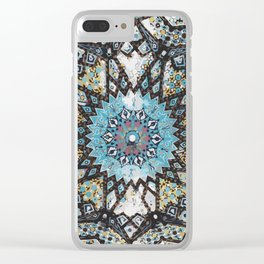 Mandala 3 Clear iPhone Case