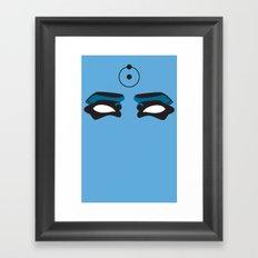 Watch this Doctor Manhattan Framed Art Print