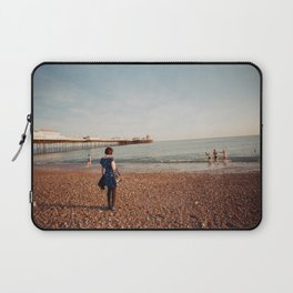 Staring at the Sea #2 Laptop Sleeve