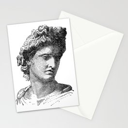 Portrait of Apollo Belvedere Stationery Cards