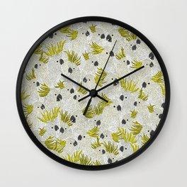 Cockatoos by Veronique de Jong Wall Clock