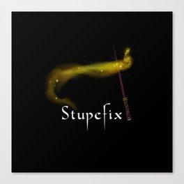 Stupefix Sortilege Spell Canvas Print