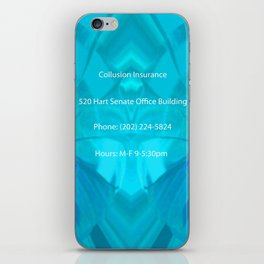 Collusion Insurance Cassidy iPhone Skin