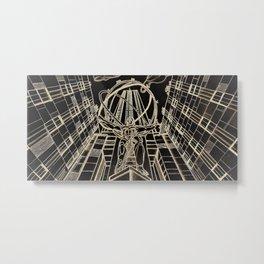Atlas at Rockefeller Metal Print