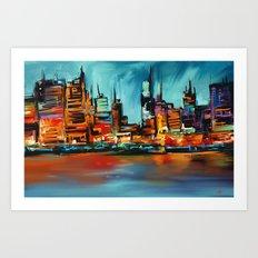 City Scapes Art Print