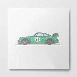 Porsche 911 RWB Racecar Metal Print