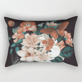 WOMAN WITH FLOWERS 7 Rectangular Pillow