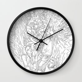 BombChild Wall Clock