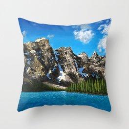 Canadian Vista  Throw Pillow